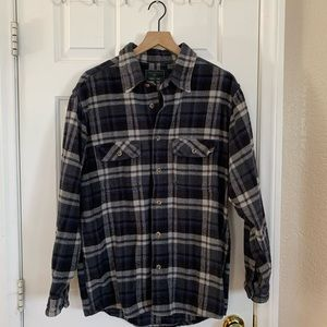Field & Stream button up 100% cotton flannel